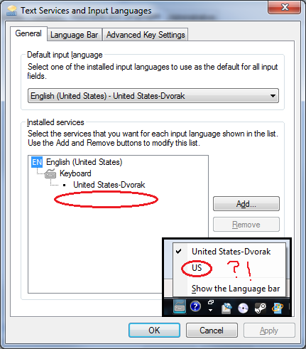 windows 7 hates foreigners